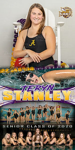 Swim Banner Teryn Stanley