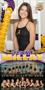 Swim Banner Jenna Millay