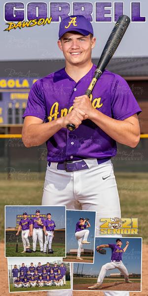 Baseball Banner Dawson Gorrell