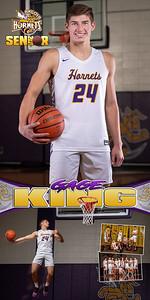 Basketball Gage King Banner