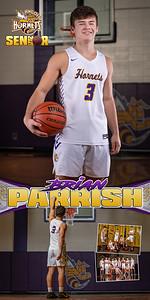 Basketball Brian Parrish Banner