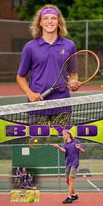 Tennis Bradley Boyd Banner