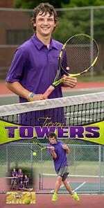 Tennis Trevon Towers Banner