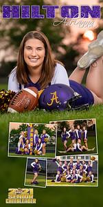 Cheer Adrianna Hilton Banner