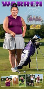 Golf Sydney Warren Banner
