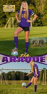 Soccer Tia Araque Banner