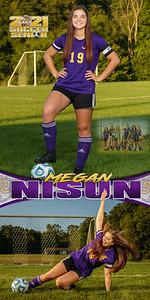 Soccer Megan Nisun Banner