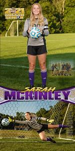 Soccer Sarah McKinley Banner