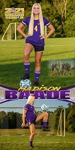 Soccer Madison Baade Banner