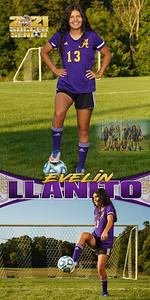 Soccer Evelin Llanito Banner