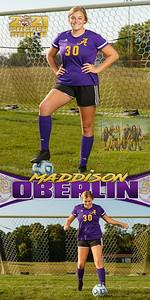 Soccer Maddison Oberlin Banner