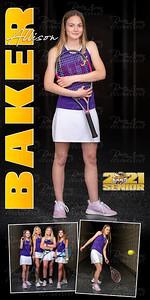 Tennis Banner Allison Baker