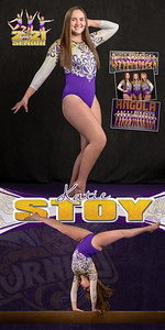 Gymnastics Katie Stoy Banner