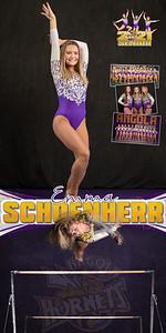 Gymnastics Emma Schoenherr Banner