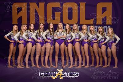 Gymnastics 2020-2021 Poster Front 12 x 18
