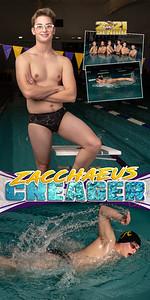 Swim Banner Zacchaeus Creager