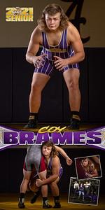 Wrestling Coy Brames Banner