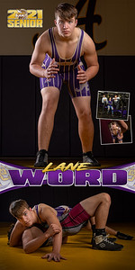 Wrestling Lane Word Banner