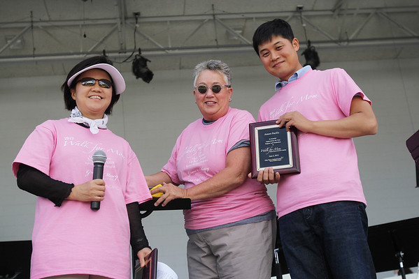 The Korean Medical Program of Holy Name Medical Center hosted  a-walkthron to raise money. The event took place at New Overpeck Park in Ridgefield Park, NJ on 06/02/2012. Photographed by  © Mitsu Yasukawa for Holy Name Medical Center