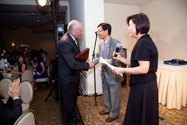 The Korean Medical Program celebrated it's fifth year anniversary at Montamy Country CLub in Alpine NJ at it's annual gala dinner and fundraiser for Holy Name Medical Center. 5/16/13  Photo by Jeff Rhode/Holy Name Medical Center