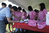Participants are seen during the Walk for Mom, a breast cancer awareness event sponsored by the Korean Medical Program at Holy Name Medical Center. The annual walk and festivities were held this past Saturday June 15th at the New Overpeck County Park in Ridgefield Park. -photo by Jerry McCrea 6/15/2013