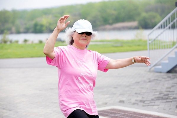Participants are seen during the Walk for Mom, a breast cancer awareness event sponsored by the Korean Medical Program at Holy Name Medical Center. The annual walk and festivities were held 5/10/14 at the Overpeck County Park in Ridgefield Park, NJ. Photo by Victoria Matthews/Holy Name Medical Center