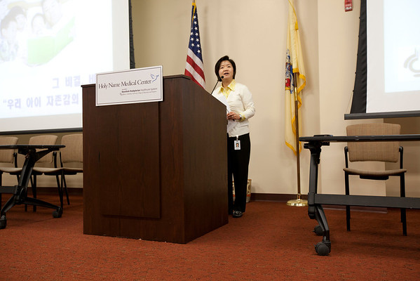 The Korean Medical Program hosted a one day conference for children and parents of Korean descent at Holy Name Medical Center in Teaneck, NJ. 5/5/12  Photo by Jeff Rhode/Holy Name Medical Center