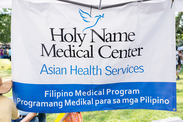 Holy Name Medical Center and the Filipino Medical Program sponsored the PAFCOM festival in Jersey City on June 26, 2016.  Photo by Victoria Matthews