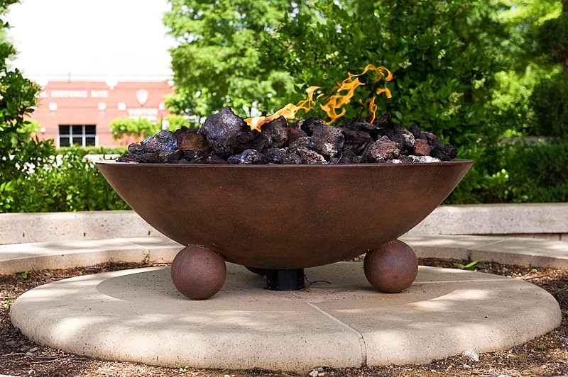 The Eternal Flame at the King Center, at the Martin Luther King National Historic Site