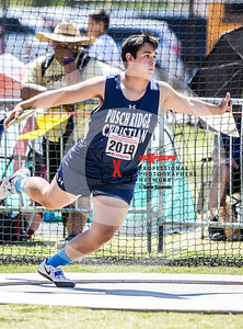 Arizona AIA State Track and Field Championship 2018 (High School) Preliminaries Boys Running  Field Discus