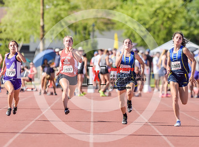 Arizona AIA State Track and Field Championship 2018 (High School) Preliminaries Girls Running 100 meter dash