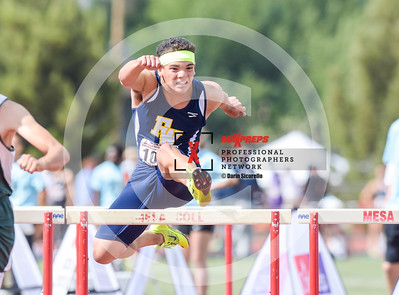 Arizona AIA State Track and Field Championship 2018 (High School) Preliminaries Boys Running Hurdles