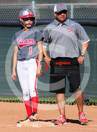 sicurello darin maxpreps Softball - Tuscon vs IR-7475