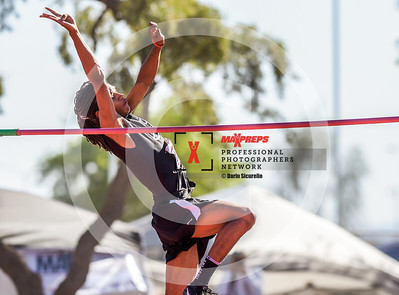 Arizona AIA State Track and Field Championships 2018 (High School) Boys Running Field High Jump