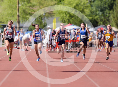 Arizona AIA State Track and Field Championships 2018 (High School) Girls Running 100 Meter Dash