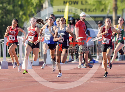 Arizona AIA State Track and Field Championships 2018 (High School) Girls Running Girls Running 400 Meter Dash