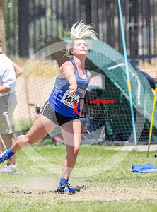 Arizona AIA State Track and Field Championships 2018 (High School)  Girls Field Javelin Hurdles