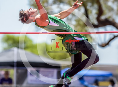 Arizona AIA State Track and Field Championship 2018 (High School) Preliminaries Boys Running High Jump