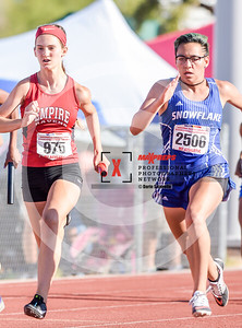 Arizona AIA State Track and Field Championship 2018 (High School) Preliminaries Girls Running 400 meter relay