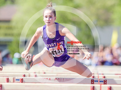 Arizona AIA State Track and Field Championship 2018 (High School) Preliminaries Girls Running Hurdles