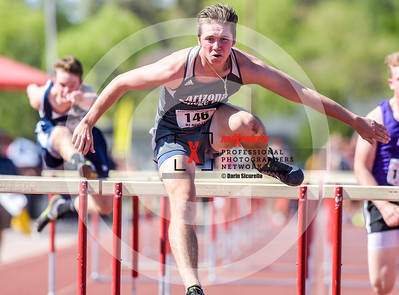 Arizona AIA State Track and Field Championship 2018 (High School) Preliminaries Boys Running  Hurdles 110