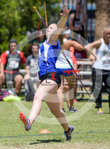 Arizona AIA State Track and Field Championship 2018 (High School) Preliminaries Girls Field Javelin