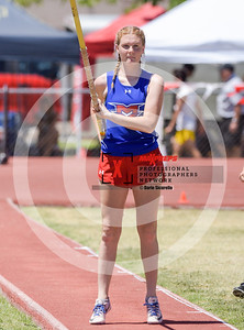 Arizona AIA State Track and Field Championship 2018 (High School) Preliminaries Girls Field Pole Vault