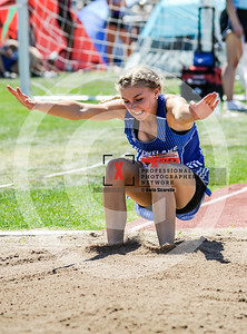 Arizona AIA State Track and Field Championship 2018 (High School) Preliminaries Girls Field Triple Jump