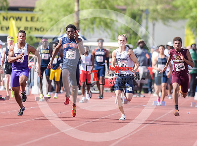 Arizona AIA State Track and Field Championship (High School) Preliminaries Boys Running DASH 100 meter
