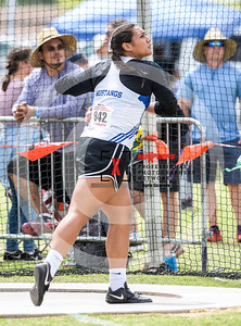 Arizona AIA State Track and Field Championship 2018 (High School) Preliminaries Girls Field Discus