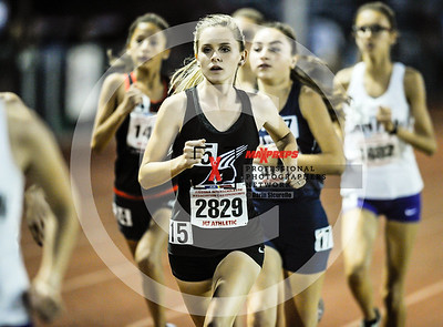 Arizona AIA State Track and Field Championship 2018 (High School) Preliminaries Girls Field Running  3200 meter