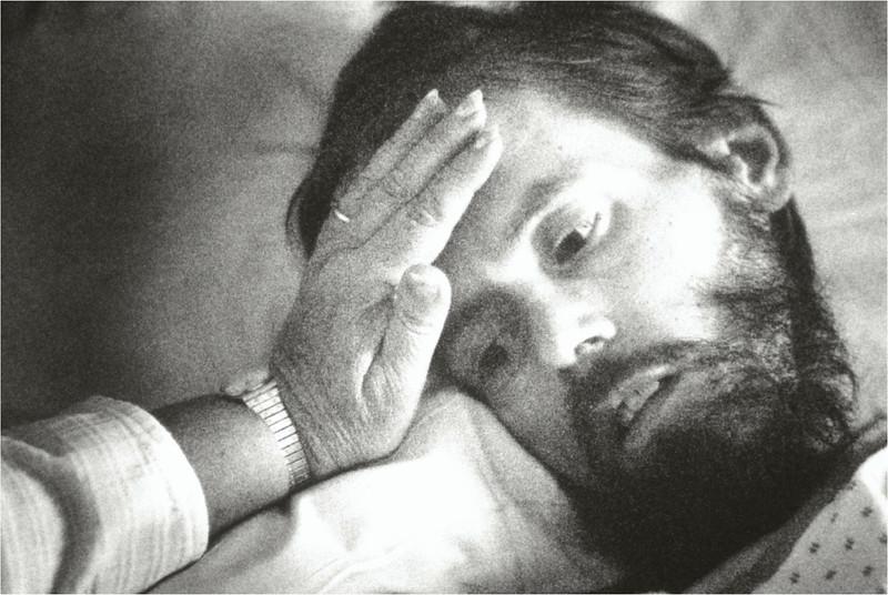 Dick Hanson in Hospital