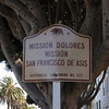 Pre Ride - Sign telling me I'm at Mission Dolores.  Cuz otherwise I would not have known.