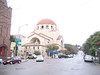 A church on the corner of Sacramento and Arguello....on the way up the dreaded Arguello hill.